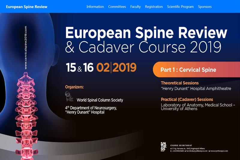 EUROPEAN SPINE REVIEW