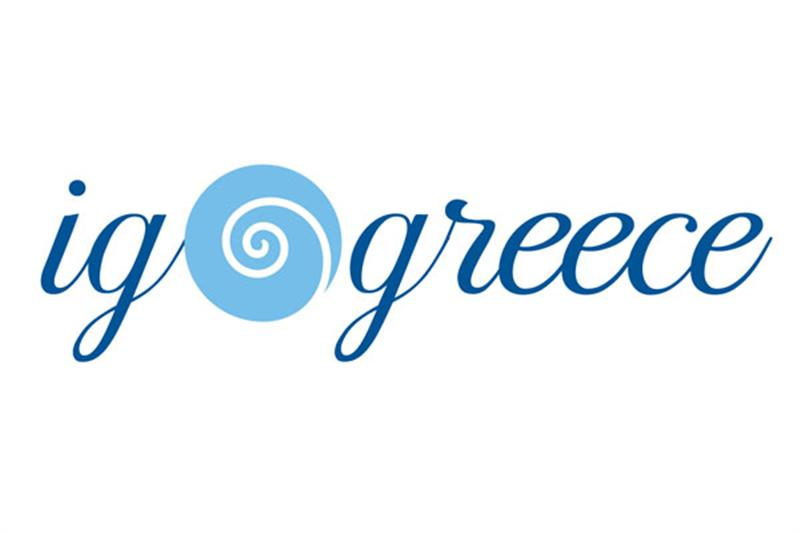 I GO GREECE LOGO